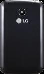 LG Optimus L3 II Dual черная задняя крышка