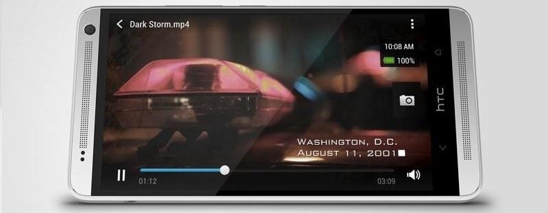 HTC One Max стерео динамики
