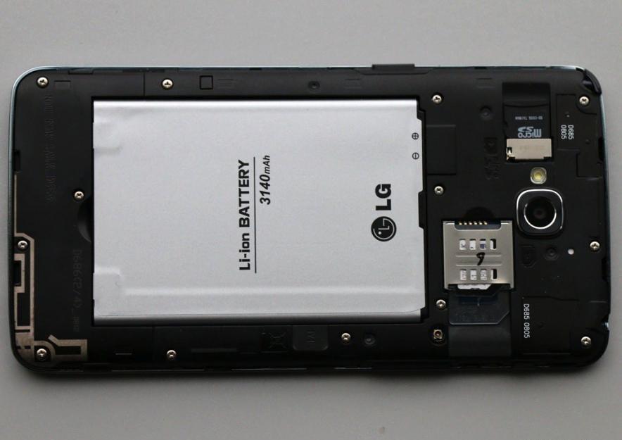 батарея в lg optimus g pro lite