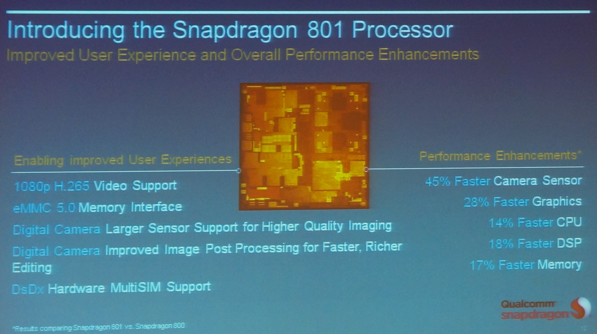 qualcomm snapdragon 801