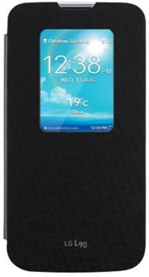 Черный оригинальный чехол LG L90