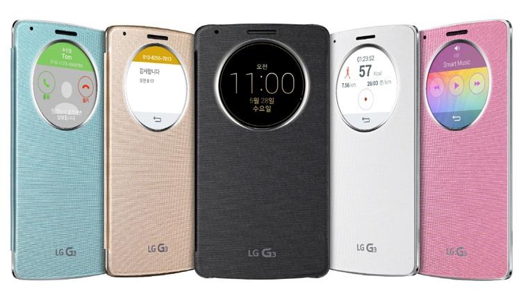 Чехол QuickCircle для LG G3 S