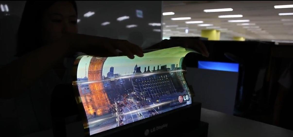 18-дюймовый OLED дисплей