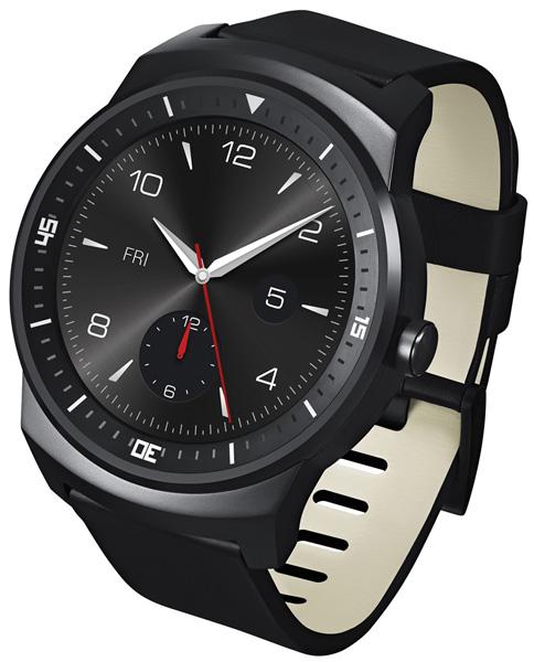 LG G Watch R черные