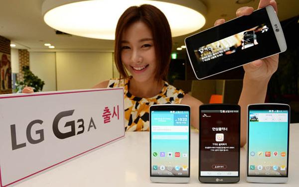 новый lg g3a