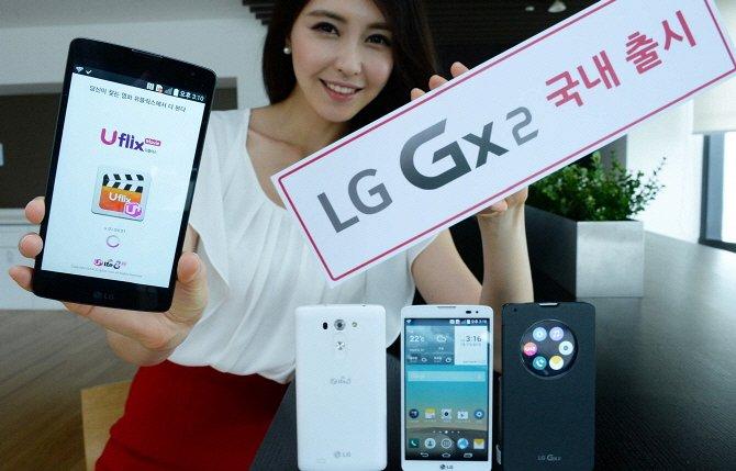 Пресс фото LG Gx2
