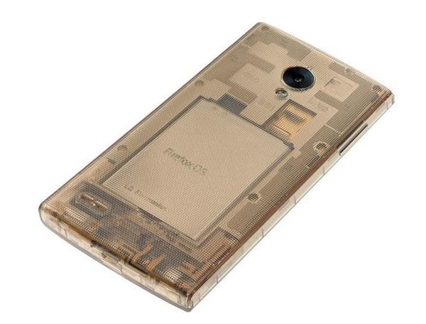 Прозрачный корпус смартфона LG Fx0