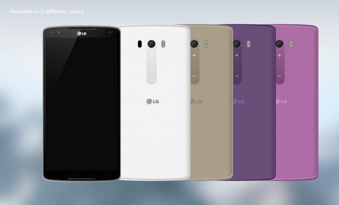 цвета LG G4