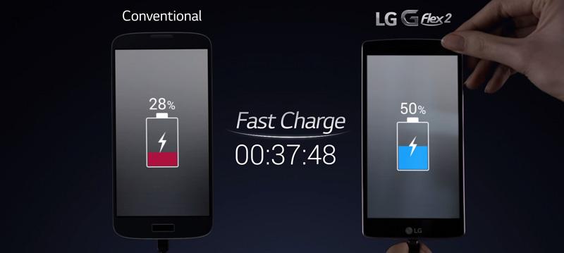 быстрая зарядка в g flex 2