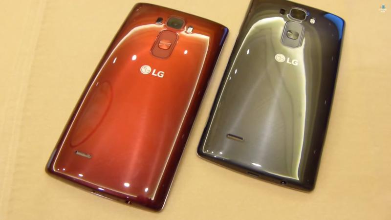 красный и серый lg g flex 2